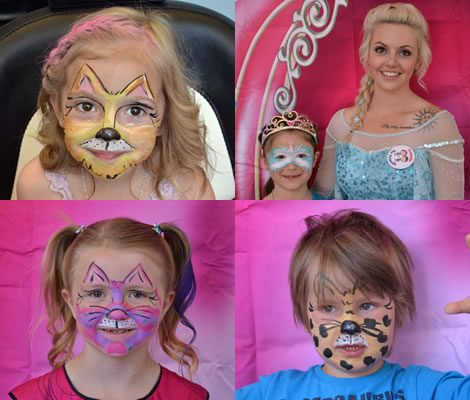 Lysh Princess Party - Princess Face Paint