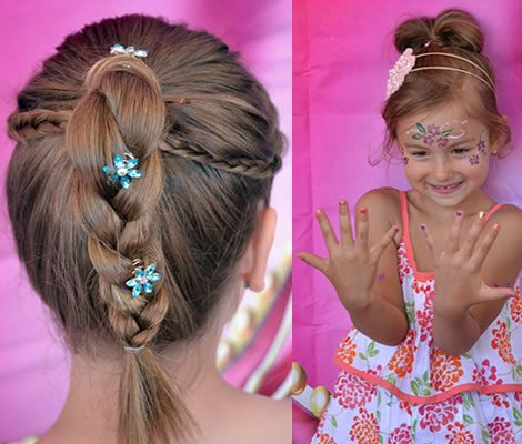 Lysh Princess Party Hair & Nails