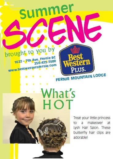 Fernie Free Press Summer Scene - Lysh