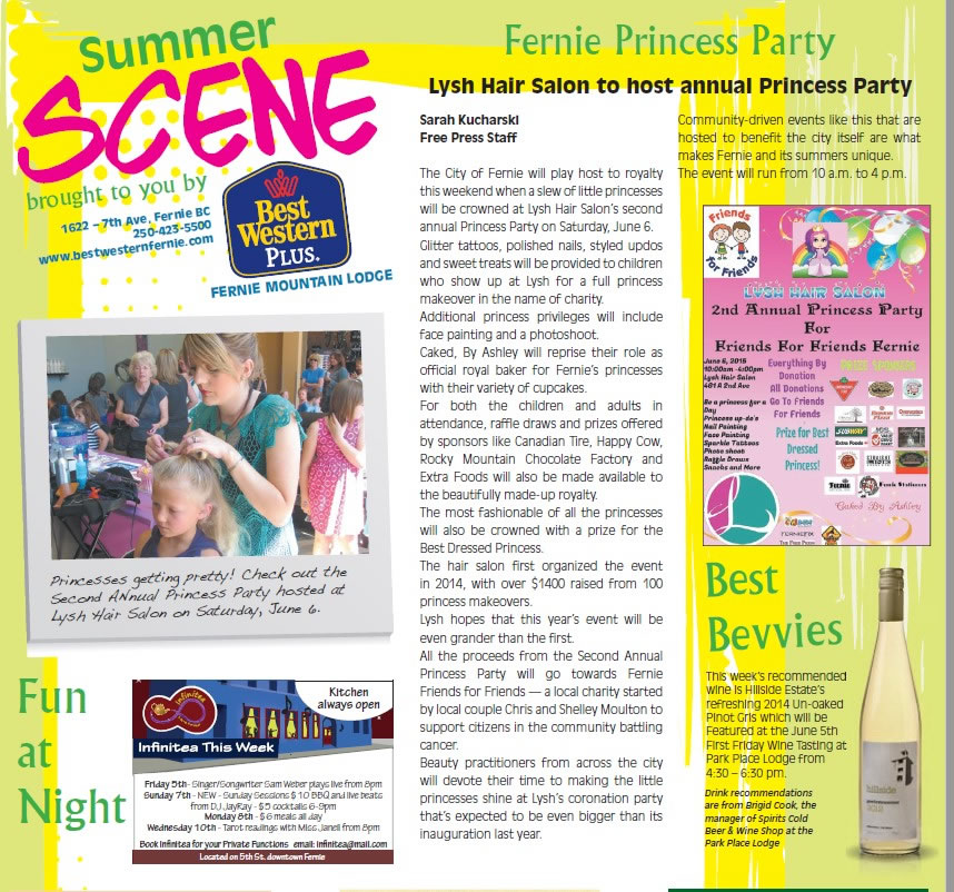 Free Press Summer Scene - Lysh's Princess Party