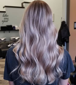 Hair by Stylist Steph at Lysh